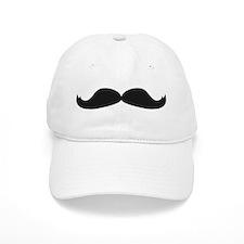 Mustache Baseball Baseball Cap