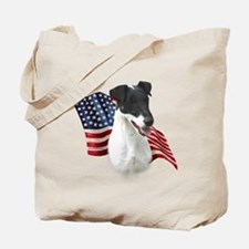 Smooth Fox Flag Tote Bag
