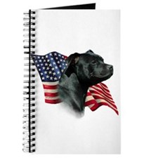 Staffy Flag Journal