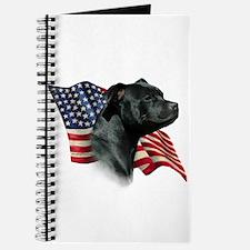 Staffy Flag Journal