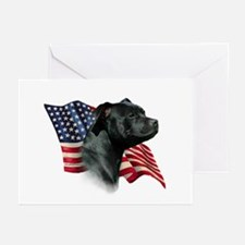 Staffy Flag Greeting Cards (Pk of 10)