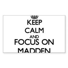 Keep calm and Focus on Madden Decal