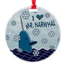 MR NARWHAL copy 4print.png Ornament