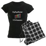 Xylophone Virtuoso Women's Dark Pajamas