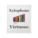 Xylophone Virtuoso Throw Blanket