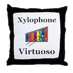 Xylophone Virtuoso Throw Pillow