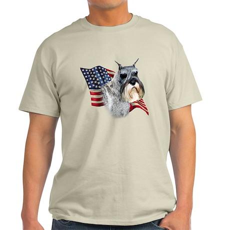 Schnauzer Flag Light T-Shirt
