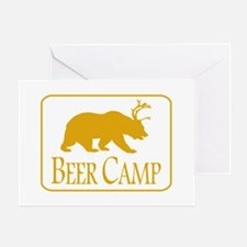 Beer Camp Greeting Cards