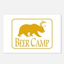 Beer Camp Postcards (Package of 8)
