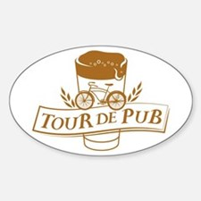 Tour de Pub Decal