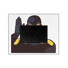 superhero hello Picture Frame