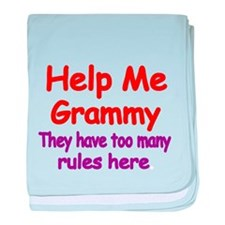 Help Me Grammy. They have too many rules here baby