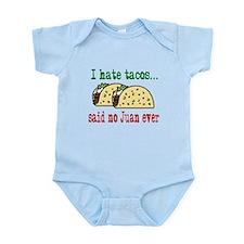 I Hate Tacos Infant Bodysuit
