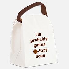 Fart Canvas Lunch Bag