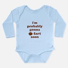 Fart Long Sleeve Infant Bodysuit