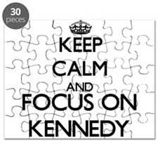 Keep calm and Focus on Kennedy Puzzle
