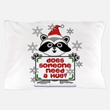 NEED A HUG RACCOON best.png Pillow Case