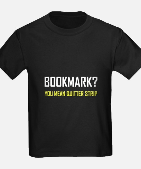 Bookmark Quitter Strip T-Shirt