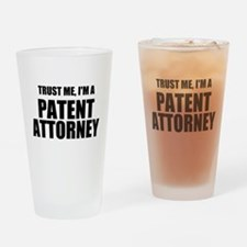 Trust Me, I'm A Patent Attorney Drinking Glass