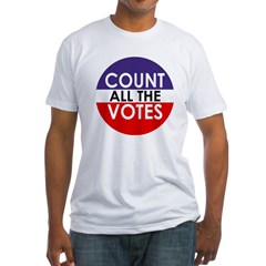 Count All The Votes (Fitted USA T-Shirt)