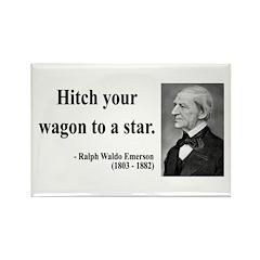 Ralph Waldo Emerson 1 Rectangle Magnet (10 pack)