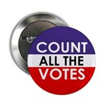 Count All The Votes Button (100 pack)
