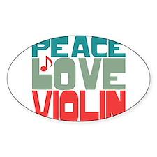 Cute Violin Decal