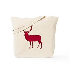 Red Deer Stag Party Tote Bag