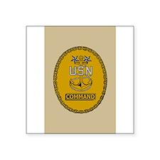 "Cute Military rank insignia Square Sticker 3"" x 3"""