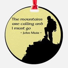 Mountains Calling Ornament