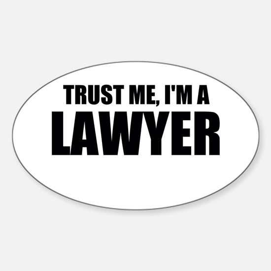 Trust Me, I'm A Lawyer Decal