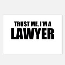 Trust Me, I'm A Lawyer Postcards (Package of 8)