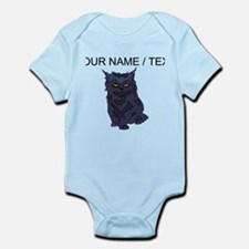 Custom Black Cat Body Suit