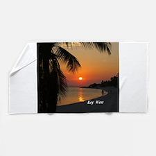Key West Sunset Beach Towel