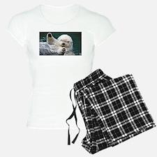a white otter Pajamas