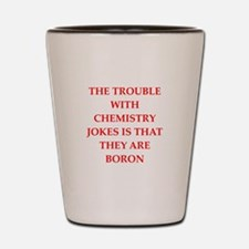 CHEMISTRY9 Shot Glass