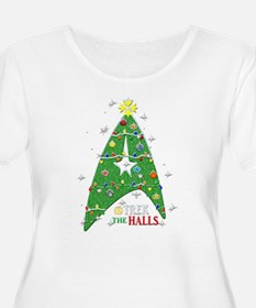 Trek the Halls Plus Size T-Shirt