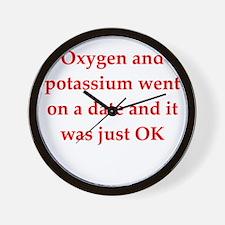 chemistry1 Wall Clock