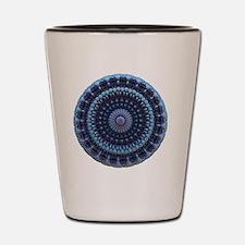 Pretty Mandala Shot Glass