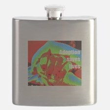 red hands Flask