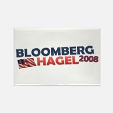 Cute Michael bloomberg Rectangle Magnet