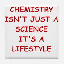 CHEMISTRY Tile Coaster