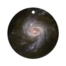 NGC 3310 Starburst Galaxy Christmas Tree Ornament