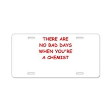 CHEMIST Aluminum License Plate