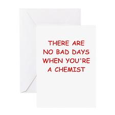 CHEMIST Greeting Cards