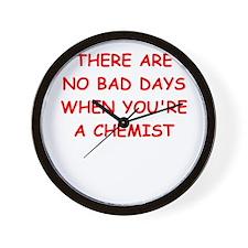 CHEMIST Wall Clock