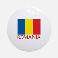 00-but-romaniaflag.png Ornament (Round)