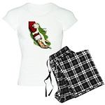 Santa Hugger Women's Light Pajamas