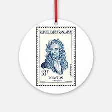 Sir Isaac Newton Christmas Tree (France) Ornament