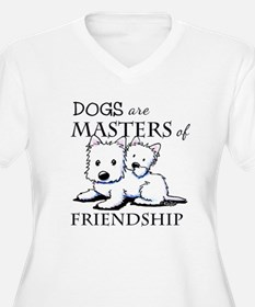 KiniArt DOGS Are T-Shirt